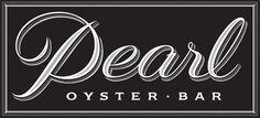 restaurant logo: Louise Fili reinvents the Pearl Oyster Bar logo