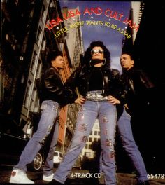 """For Sale - Lisa Lisa & Cult Jam Little Jackie Wants To Be A Star UK  CD single (CD5 / 5"""") - See this and 250,000 other rare & vintage vinyl records, singles, LPs & CDs at http://eil.com"""