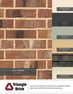 Most popular Ideas for red orange brick house exterior House Exterior Color Schemes, Exterior Paint Colors For House, Paint Colors For Home, Exterior Colors, House Siding Colors, Exterior House Colors Combinations, Orange Brick Houses, Pintura Exterior, House Paint Color Combination