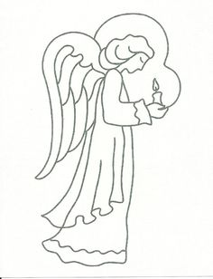Angels, Angel, Symbolic Image printed in your choice of 11 colors or on a vintage book page  $6.00
