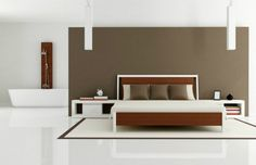 Simplicity is the ultimate sophistication and minimalist master bedroom is the soul of sophistication | http://masterbedroomideas.eu