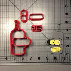 Bender Futurama Cookie Cutter Set