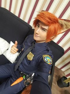 #AG_Косплей<br>Nick Wilde Zootopia Cosplay<br>by liui-aquino<<< Whoaaaaaaaa I Can't Cosplay ( So Jealous ) XD