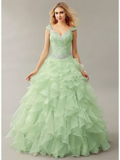 2016 New Mint Ball Gown Puffy Floor Length Ruffles Organza Off Shoulder Crystals Corset Girls Prom Dresses vestidos de fiesta     Tag a friend who would love this!     FREE Shipping Worldwide     Get it here ---> http://onlineshopping.fashiongarments.biz/products/2016-new-mint-ball-gown-puffy-floor-length-ruffles-organza-off-shoulder-crystals-corset-girls-prom-dresses-vestidos-de-fiesta/