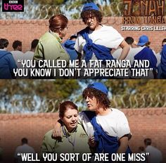 Chris Lilley is hilarious!! Jonah from Tonga