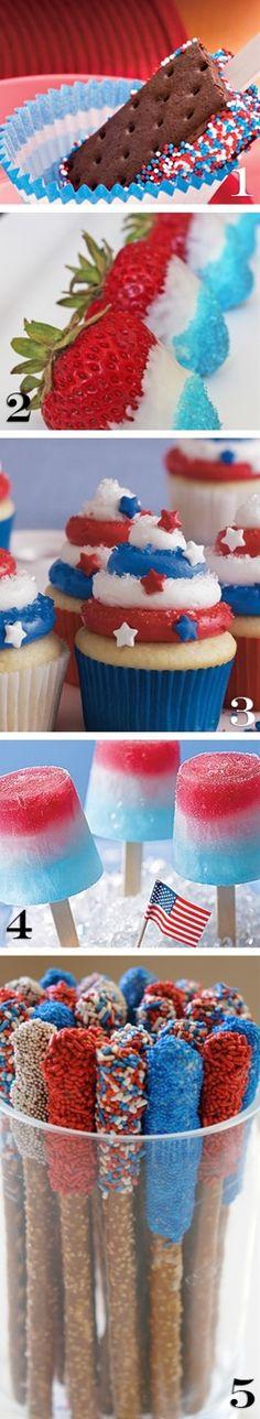 Cute Fourth of July treats