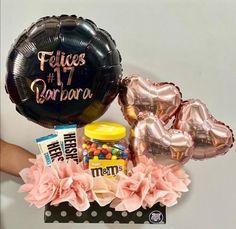 Balloon Surprise, Balloon Gift, Birthday Balloon Decorations, Birthday Balloons, Birthday Cake Girls, Birthday Gifts, Honey Shop, Cute Presents, Balloon Arrangements