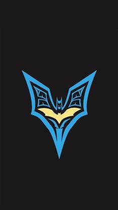 Batman blue and yellow