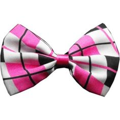 Pink Plaid Dog Bow Tie – Bark Label