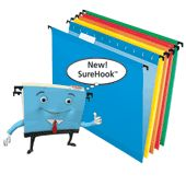 Pendaflex SureHook Hanging File Folders are a must when setting up a file system at home or in the office.  These files are durable, easy to slide or remove as needed.  Love mine!