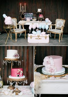 Marie Antoinette | Wedding Cake | Cotton Candy | Dessert Table | Poppy Shoppe Productions | Wedding Planner | Los Angeles Weddings | Holding Company