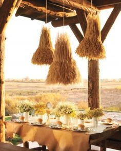 """See the """"Rustic Tablescape"""" in our Rustic Country Wedding Ideas gallery"""