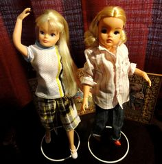 Vintage Dolls from 70s