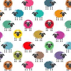No pensé que diera para un post pero he encontrado cuatro modelos de estampados de ovejas bastante simpáticos.  ¿Que os parecen?   Enlace:  ...