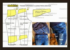 ModelistA: Maternity Adaptation for Jeans