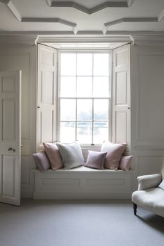 Would like to build around the window so we have the image of a window seat and a beautiful window