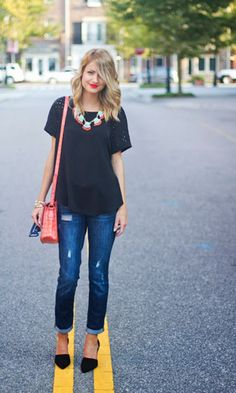 Look: T-shirt + Jeans