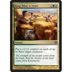 Reap What Is Sown (foil)