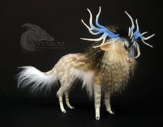 Clear Water Stag Room Guardian by Anyaboz on Etsy