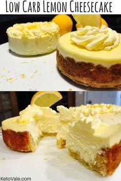Lemon Cheesecake with Almond Crust