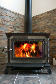 New Wood Burning Stove Hearth Mantels Ideas Wood Stove Wall, Corner Wood Stove, Wood Stove Surround, Wood Stove Hearth, Wood Burning Fireplace Inserts, Stove Fireplace, Wood Fireplace, Fireplace Ideas, Fireplace Refacing