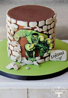 The Incredible Hulk httpcakesdecorcomcakes233330the