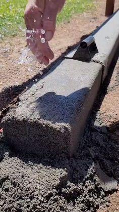 Diy Projects Cement, Outdoor Projects, Garden Projects, Backyard Patio, Backyard Landscaping, Landscape Design, Garden Design, Garden Sitting Areas, Concrete Art
