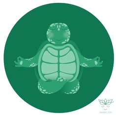 Animal Zen: T is for Turtle http://society6.com/anasukhova/animal-zen-t-is-for-turtle_print#1=45
