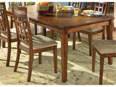 The richly detailed mission design of the Cross Island Dining Room Furniture from Signature Design by Ashley captures the beauty of rich country style with a versatility that enhances any dining area. Description from diningtabletoday.blogspot.com. I searched for this on bing.com/images