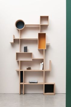 """""""Always read something that will make you look good if you die in the middle of it"""" - P. O'ROURKE - ('Réso' Shelving System designed by Design Drugeot) Cool Furniture, Furniture Design, Furniture Ideas, Bookshelves, Bookcase, Etagere Design, Interior Decorating, Interior Design, Shelf Design"""