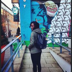 One of our amazing customers showing off her @highspiritbag while on vacation in the UK! :-) www.highspiritbags.com #highspiritbag #highspirit #city #vacationtime #holiday #nottingham #unicorn #bag #backpack #rucksack #graffiti #art #travel #travelling #travelblog #fashion #accessories #fashionista #style #stylish #cutebag #happy #fun #colorful #instatravel #tourism #explore #city #worldwide #seetheworld