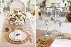 Vem ver nossa sugestão de decoração em branco, dourado e vermelho para o almoço de Natal. Fabiana Moura criou uma mesa posta linda para o dia 25 de dezembro