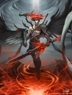 Artifact Angel Advanced by *el-grimlock on deviantART