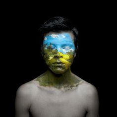 Face Paint Portraits by Andy Alcala