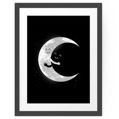 Moon Hug by Digital Carbine. #hellosunday