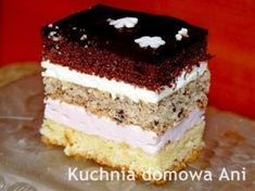 Kuchnia domowa Ani: Ciasto śnieżka European Dishes, Polish Christmas, Breakfast Menu, Polish Recipes, Tart, Sweet Tooth, Food And Drink, Favorite Recipes, Yummy Food