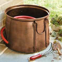 17 garden hose storage solutions from our friends at HGTV
