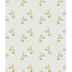 Lilipinso vintage style flowers wallpaper