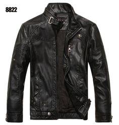 2015 New Spring Autumn Motorcycle Leather Jacket Men Jaqueta Couro  Masculino Sheepskin Coat Suede Jacket Bomber Leather Jacket 7b89f037883fa