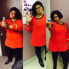 lt uhura halloween 2015 - Uhura Halloween Costume