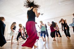 Every Wednesday is a chance to dance. Will you join us?  Waves Journey, every Wednesday 7-9pm MLK Gym, 610 Coloma St., Sausalito, CA. Photo by Amir Magal