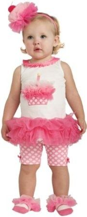 1st birthday girl outfit - too cute!