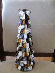 Halloween Ribbon Tree by hollyw17