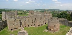 Not often mentioned but very important in the history of the Plantagenets ♥ Ludlow castle