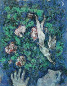 L'Ange dans les fleurs (1925-26) - Marc Chagall