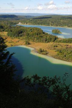 Vue depuis le belvédère des 4 Lacs (Maclu, Ilay) - Jura