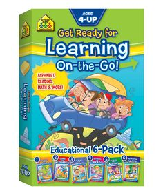 Take a look at this Get Ready for Learning On-the-Go Book Set today!
