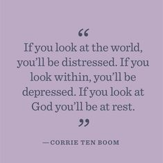 Corrie Ten Boom is a profound woman who survived the Nazi terrorism. He faith and love for other people is inspiring!