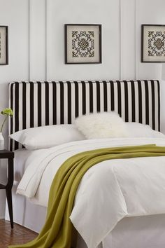 i have a list of about 15 things i want to do in my apartment. and this headboard just made that list.