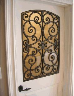 Tableaux Faux Iron Door 5